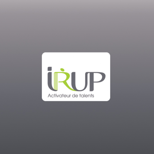 Site internet de l'IRUP, activateur de talents