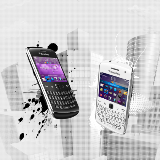 Site Internet Blackberry Touch
