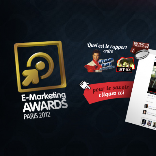 WEBQAM ET YOU TO YOU PRIMÉS AU E-MARKETING AWARDS 2012