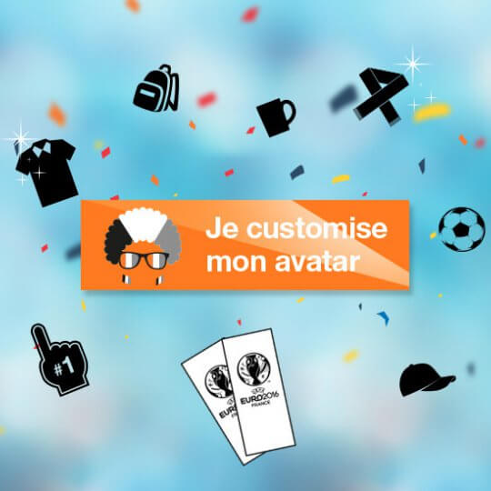 Filtre Avatar Orange Euro 2016