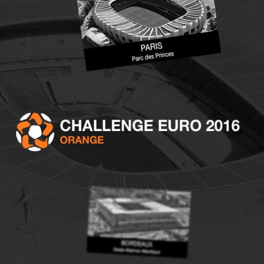 Orange propose un quizz à l'occasion de l'Euro 2016