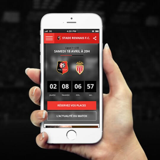 Application mobile Stade Rennais