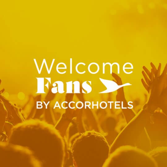 Welcome Fans by AccorHotels