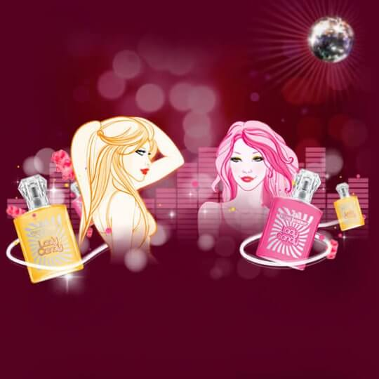 Application facebook Eau Jeune Candy Party