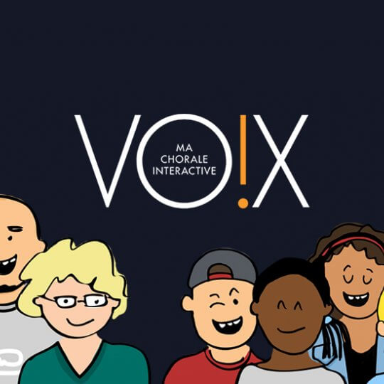 Lancement de Vox, ma chorale interactive par Radio France