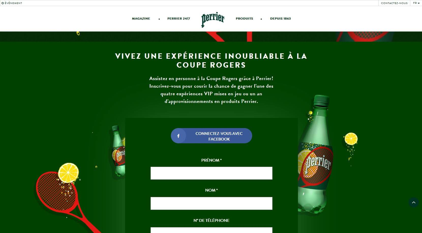 perrier-rogers-cup