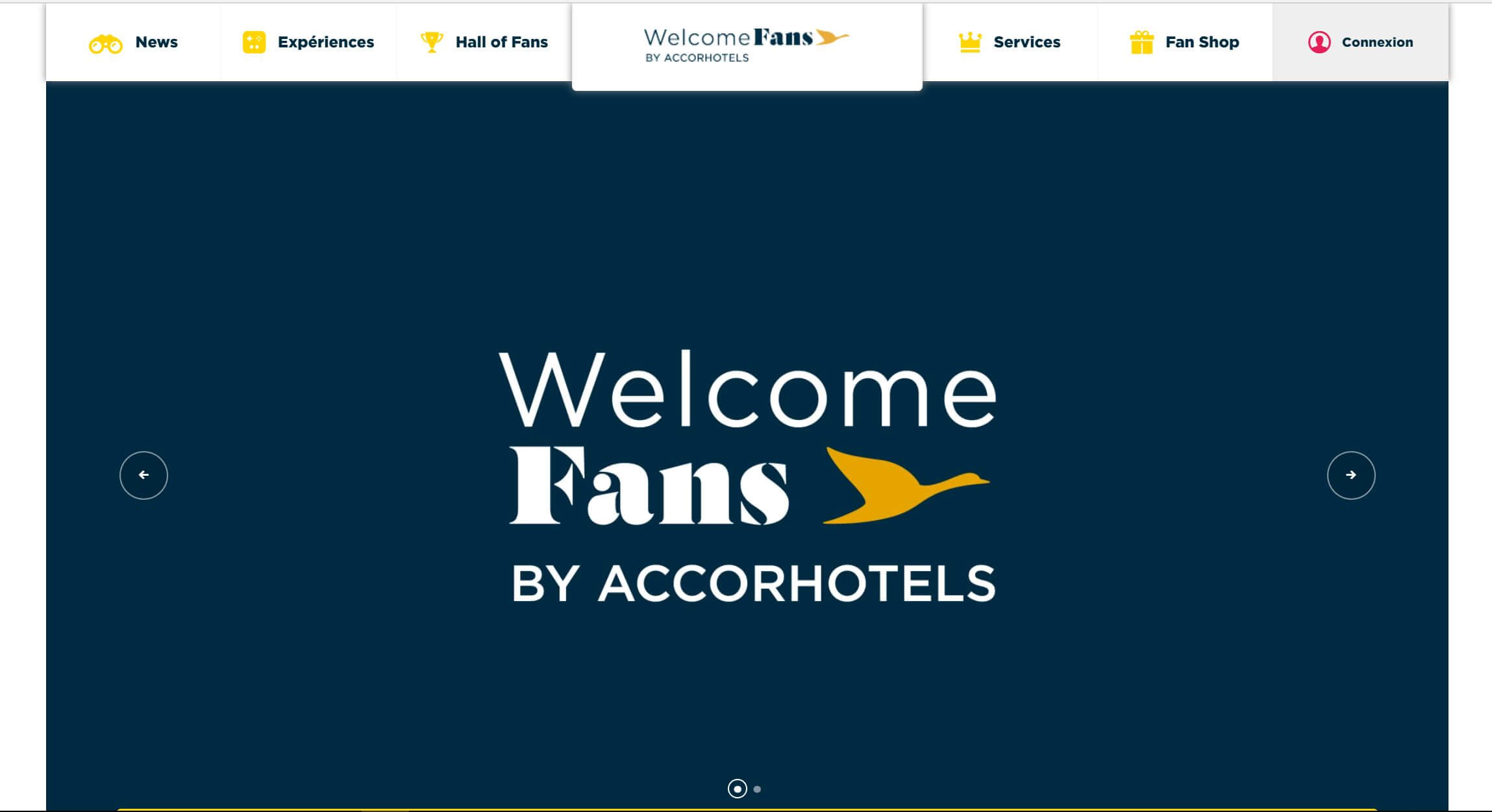 WelcomeFans-homepage